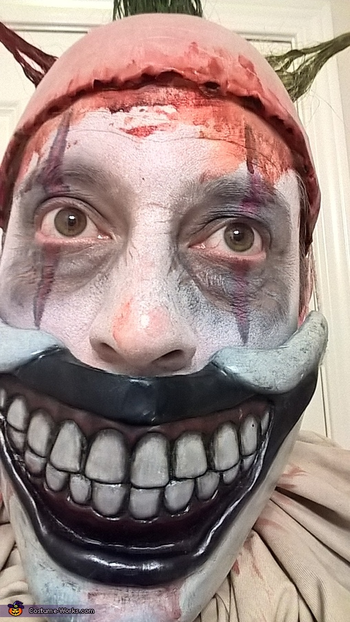 Twisty the Clown - closeup, Twisty the Clown Costume