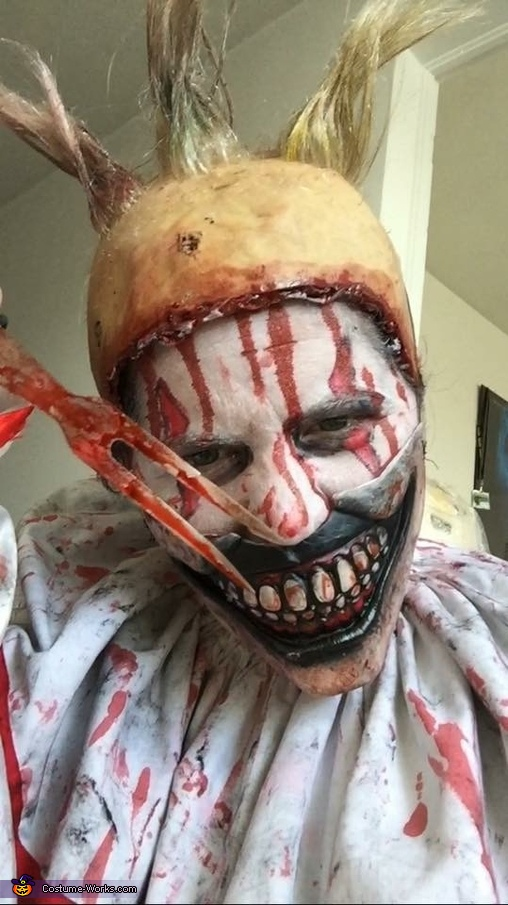 Twisty the Clown Homemade Costume