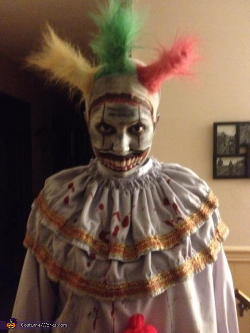 Much better in low light!, Twisty the Clown Costume