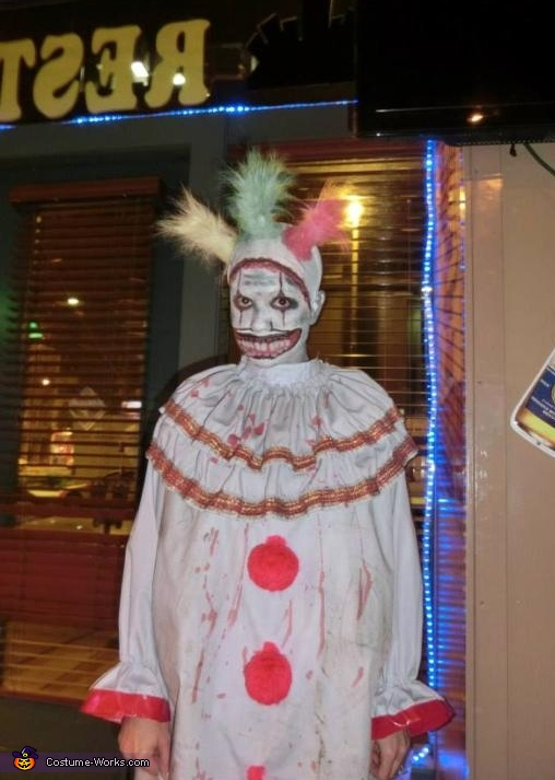 Taken at the party., Twisty the Clown Costume