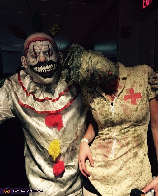 Twisty the Clown and Nurse from Silent Hill Costumes