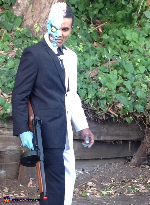 Two-Face Homemade Costume