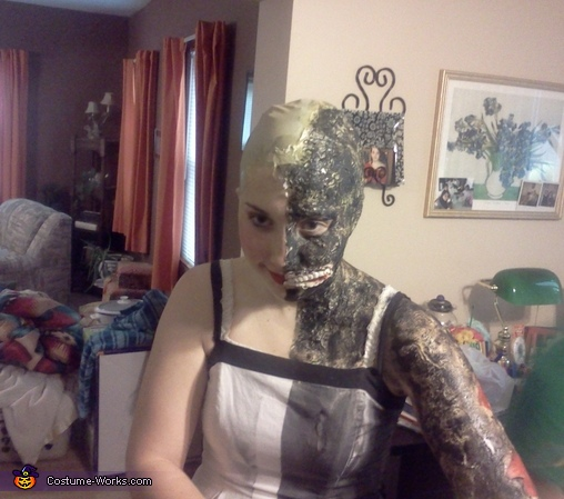 In progress, Two-Face from The Dark Knight Costume