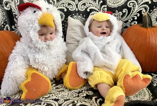 Two Chicken Littles Costume