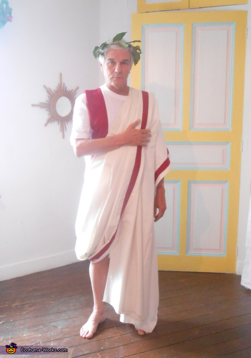 A Senator of Rome, Two Citizens of Ancient Rome Couple's Costume