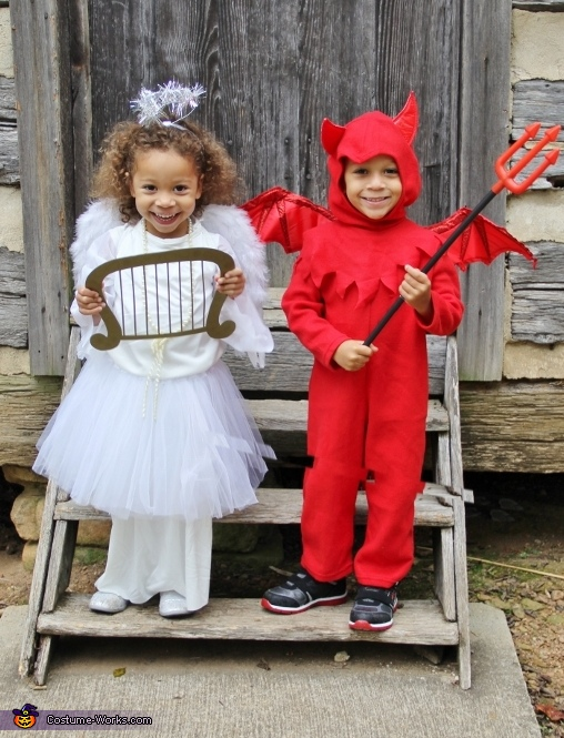 Two Devilish Angels Costume