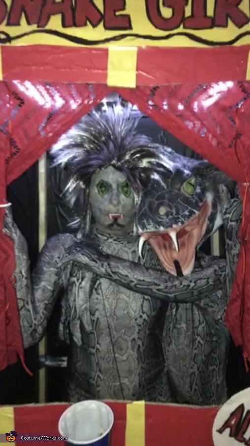 Two Headed Snake Girl Costume