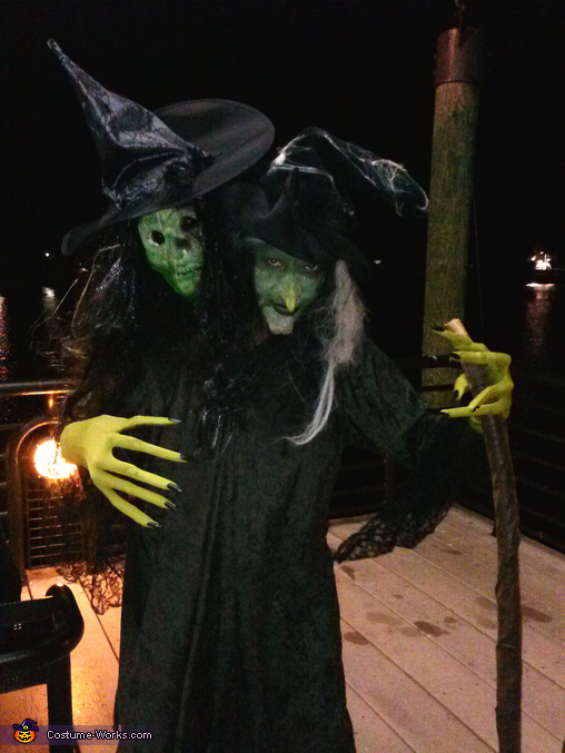 Two Headed Witch Costume