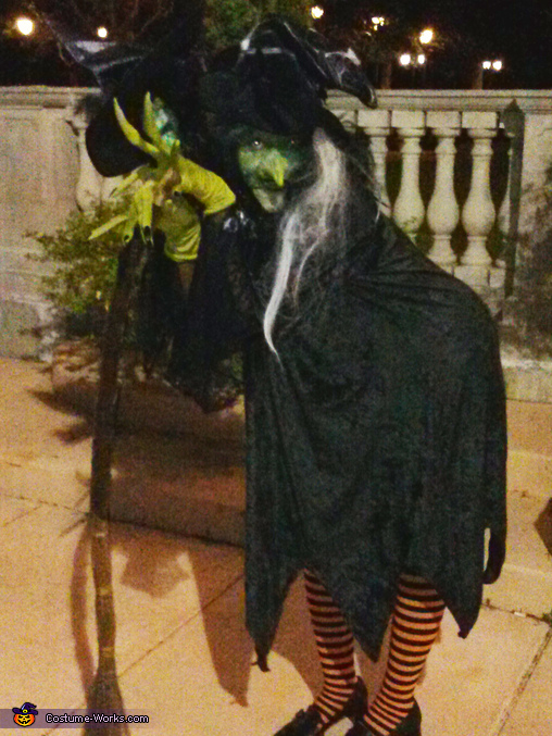 Two Headed Witch Homemade Costume