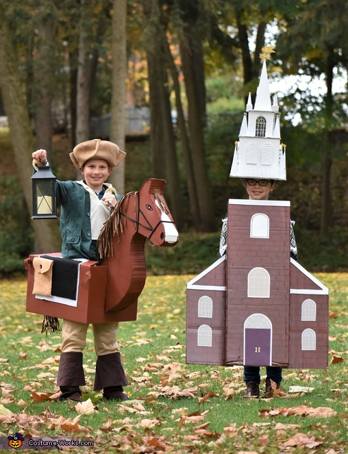 Two if by Sea, Paul Revere and the Old North Church Costume