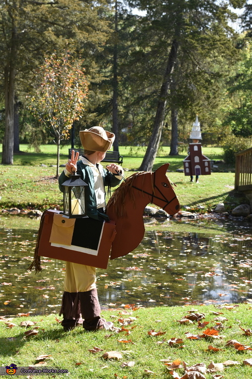 Two if by Sea, Paul Revere and the Old North Church Homemade Costume