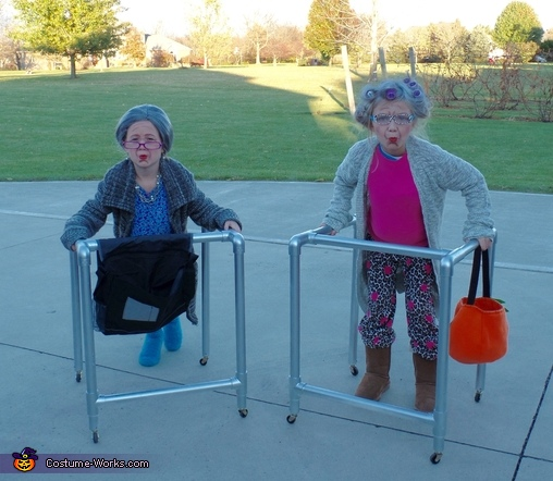 Two Old Granny's Costume