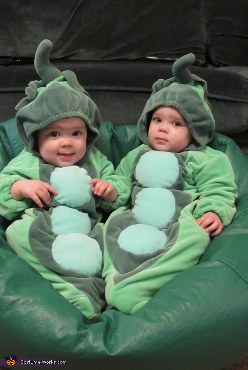 Two Peas in a Pod Baby Costumes