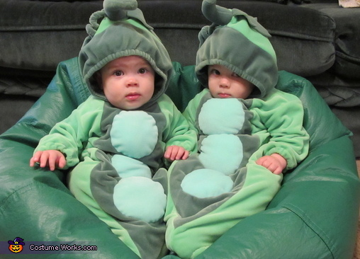 Cute x2!, Two Peas in a Pod Baby Costumes