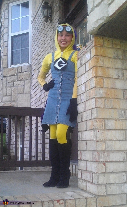yellow minion, Two Sided Minion Costume