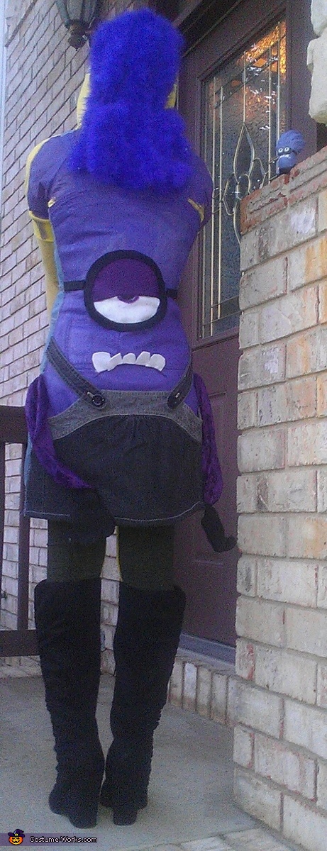 purple minion, Two Sided Minion Costume