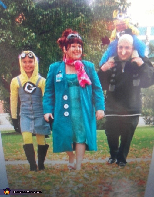 minion family, Two Sided Minion Costume