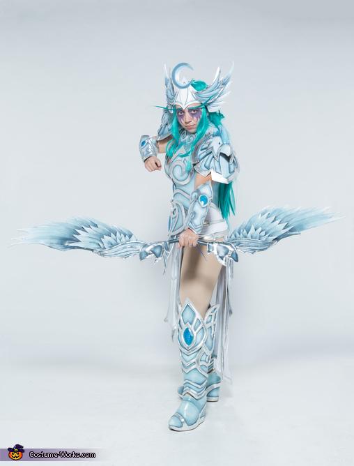 Tyrande Whisperwind from World of Warcraft Homemade Costume
