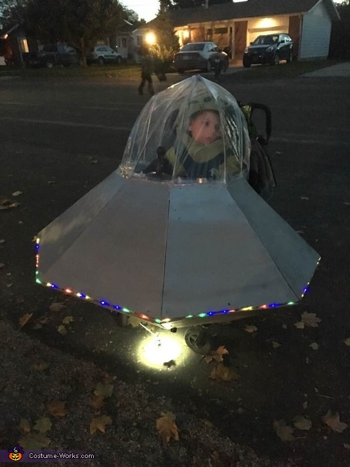 UFO for over wheelchair Costume