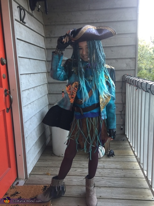 Another morning shot, Uma from Descendants Costume