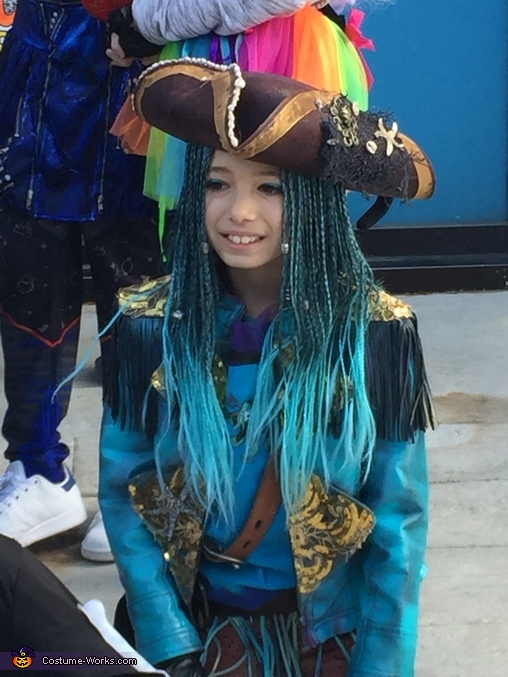 At the parade, Uma from Descendants Costume