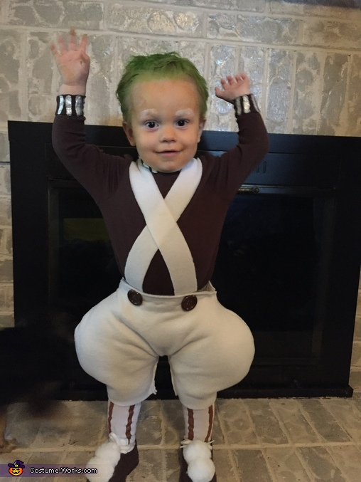 Umpa Loompa Homemade Costume