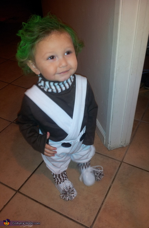 Umpa Lumpa - Homemade costumes for babies