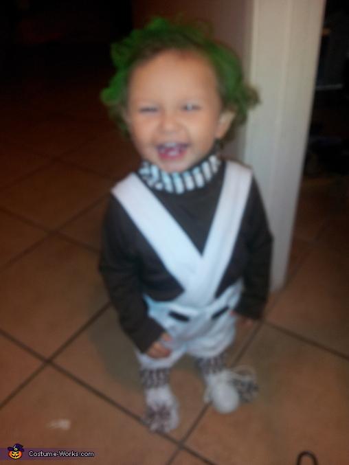Umpa Lumpa Baby Costume