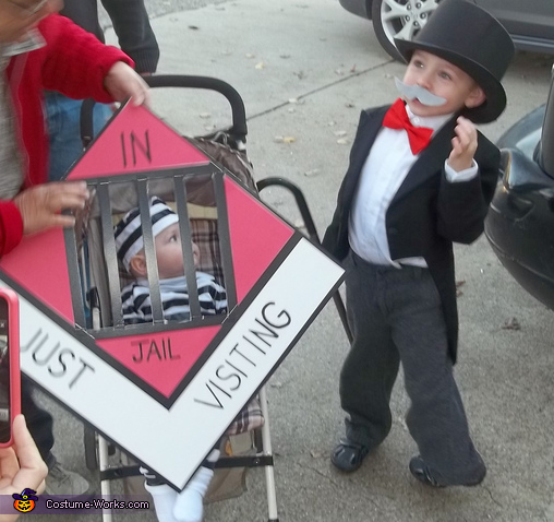 Uncle Pennybags and Go to Jail! Costume