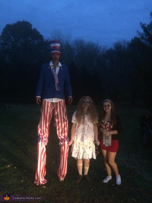 Uncle Sam, zombie, and gumball.machinr, Uncle Sam Costume