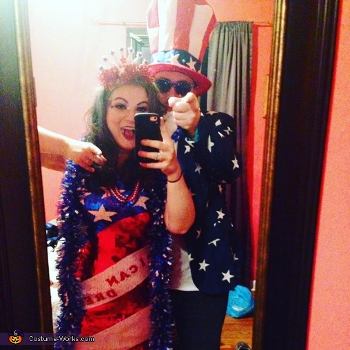SAMERICA!, Uncle Sam and The 'Erican Dream Costume