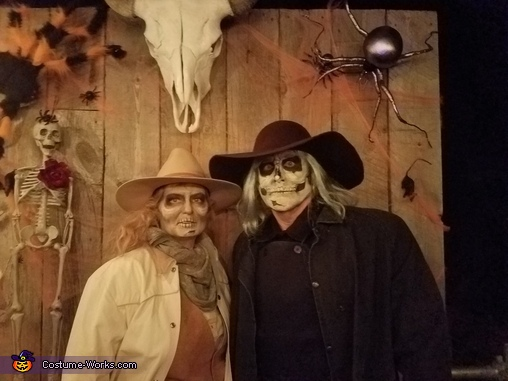 Undead Cattle Rustlers Homemade Costume