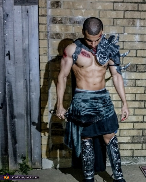 Undead Knight Homemade Costume