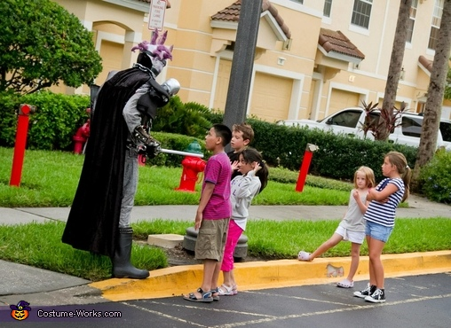 The neighborhood kids love me., Undead Monster Skovslayer Costume