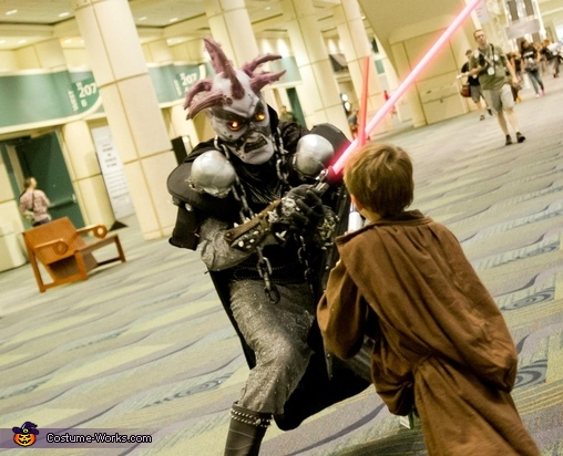 This Jedi is no match for me., Undead Monster Skovslayer Costume