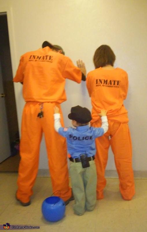 Under Arrest Costume