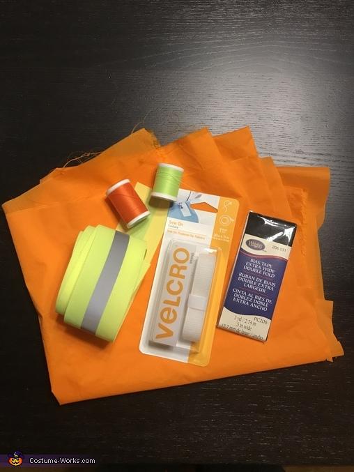 Vest supplies, Under Construction Costume