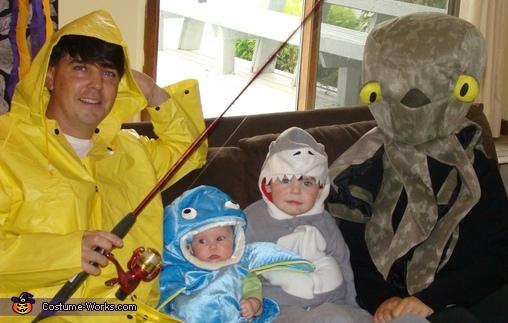 Under the Sea Family Costume