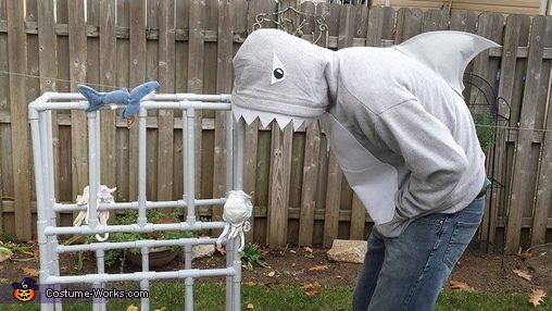 Uh oh! Did daddy shark get the diver?, Under the Sea Family Costume