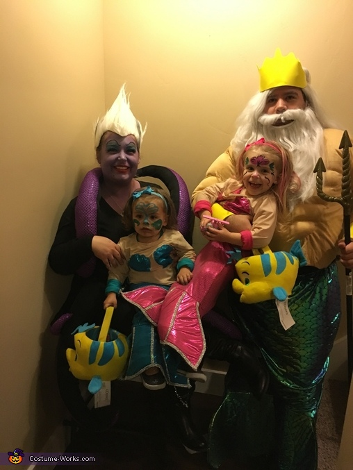 See Family, Under The Sea Family Costume