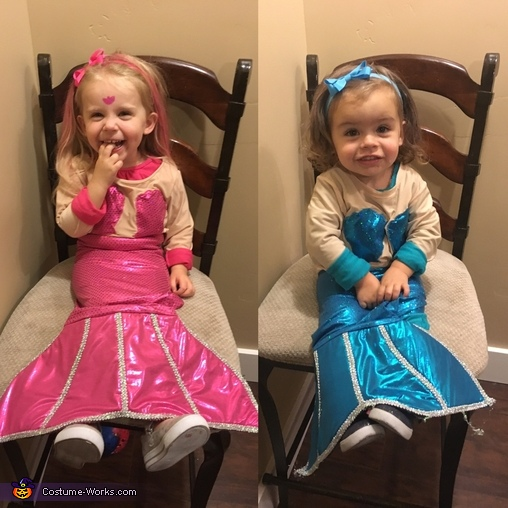 Mermaid Sisters, Under The Sea Family Costume