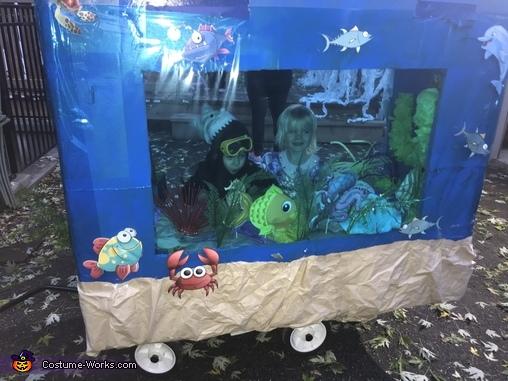 Under the Sea Homemade Costume