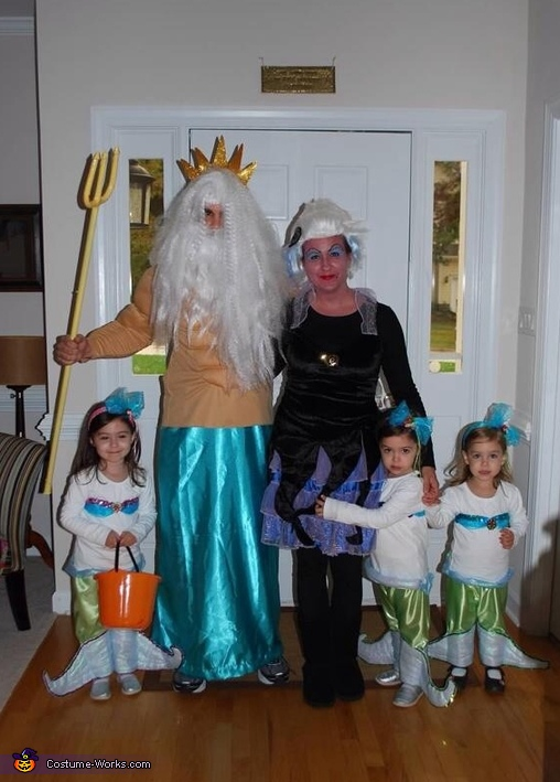 Under the Sea Family Costume