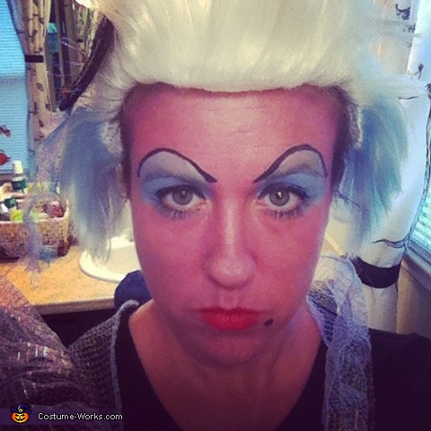 Ursula make up, Under the Sea Family Costume