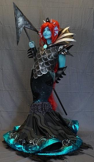 Undertale Undyne Homemade Costume