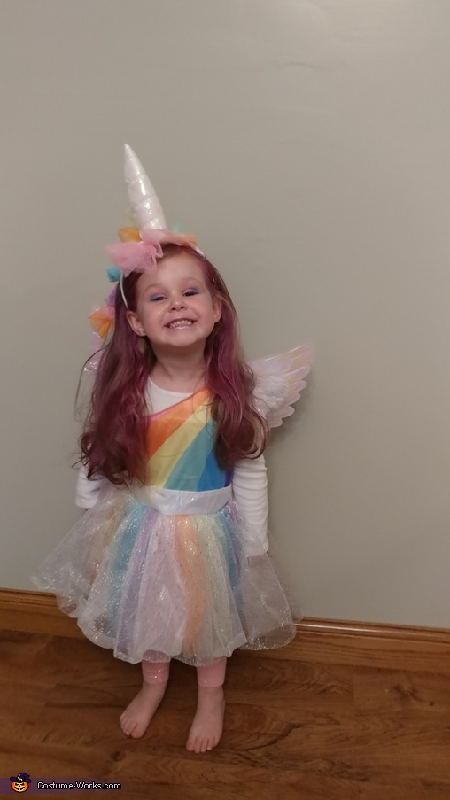Unique Unicorn, Unicorn Costume
