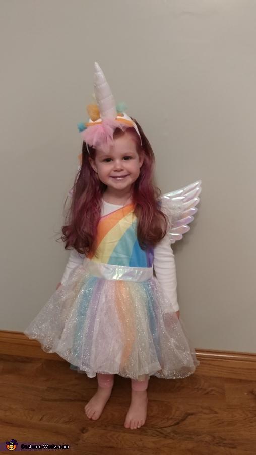 Meila Girl, Unicorn Costume
