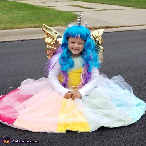 Unicorn Homemade Costume