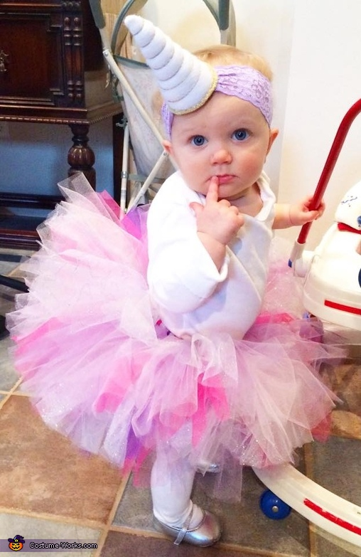 fine unicorn baby girl outfit