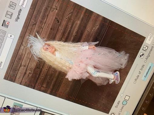 Photoshoot time, Unicorn Twinsies Costume